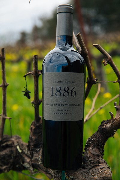1886 Cab Sauv Bottle Shot