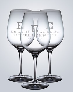 <PRE>Ehlers Estate Wine Glass</PRE>